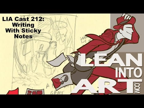 LIA Cast 212 - Sticky Note Writing
