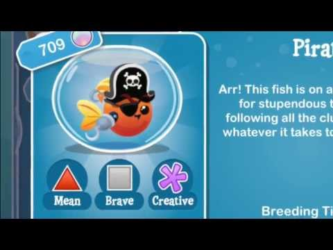How to Breed the Pirate Fish in Fish With Attitude