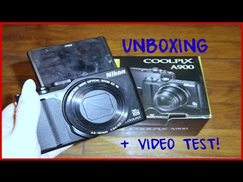 NIKON COOLPIX A900 UNBOXING + VIDEO/PHOTO TEST