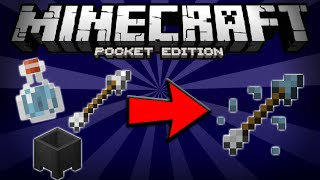 How To Make Tipped Arrows In Minecraft Pe 0150 Craft Tipped Arrows In