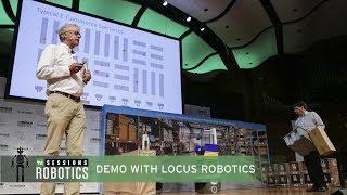 Demo with Bruce Welty (Locus Robotics)