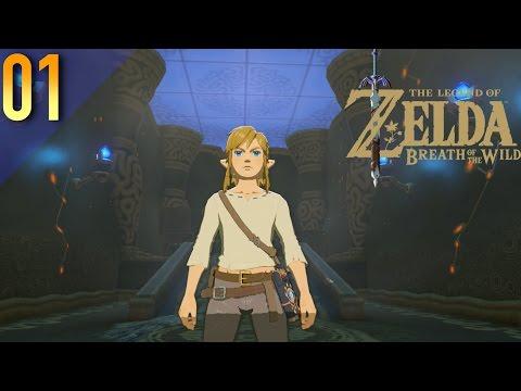 Link's Awakening!   The Legend of Zelda: Breath of the Wild: (Switch) Gameplay Pt. 1