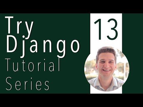 Try Django Tutorial 13 of 21 - Add & Update Bootstrap Navbar