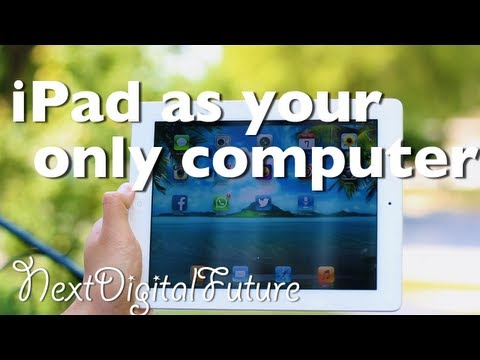 ✱Can you use an iPad as your only computer? iPad vs. Macbook Air