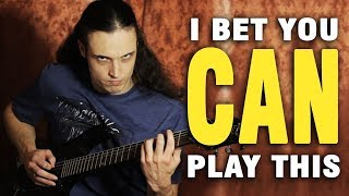 20 awesome metal riffs ANYONE can play | Andriy Vasylenko