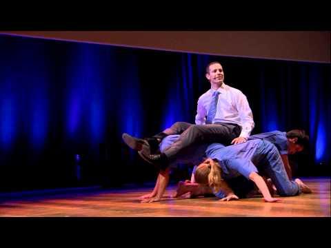 Dance your PhD | John Bohannon & Black Label Movement | TEDxBrussels