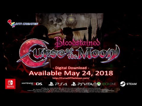 Bloodstained: Curse of the Moon Official Trailer