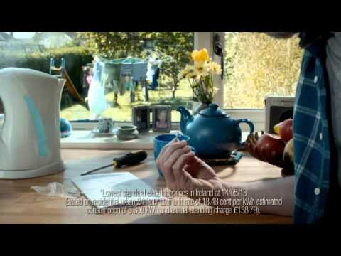 Bord Gáis Energy - Lowest Standard Electricity Prices + 10% Discount