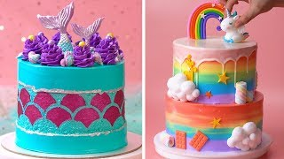 How To Make Cake For Your Coolest Family Members | Yummy Birthday Cake Hacks | So Yummy