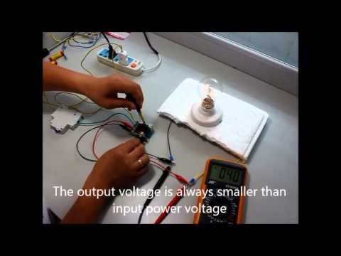 Adjustable Voltage Regulator AC Motor Speed Controller - by eBay seller comelili