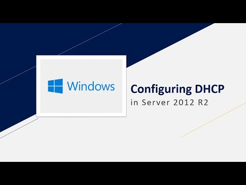 Configuring DHCP in server 2012 R2 in Hindi