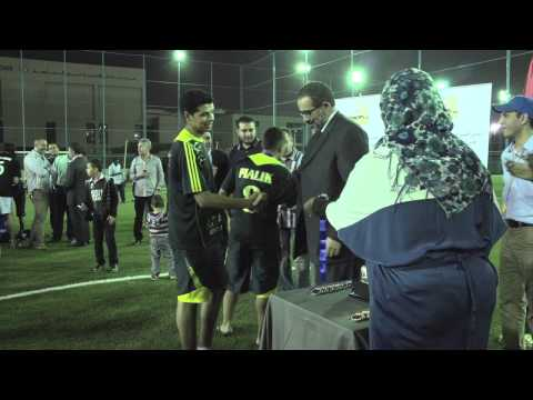 Champion Game of the First Libyan Club Football Tournament in Dubai