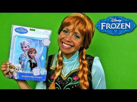 Disney Frozen Password Diary ! || Disney Toy Reviews || Konas2002