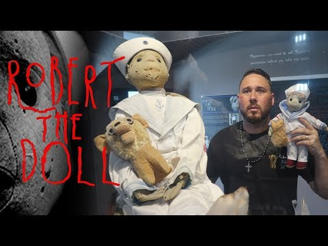 THIS HAUNTED DOLL IS A NIGHTMARE - Robert The Doll | OmarGoshTV