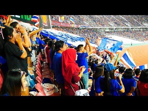 Soccer Game in Thailand - Jaramangala National Stadium