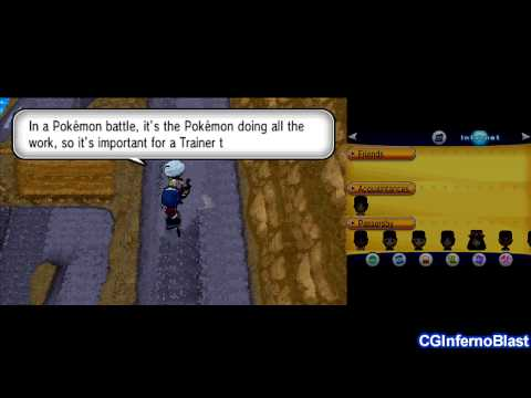 Pokemon X/Y - Walkthrough/Playthrough - Part 8 - [Route 8, Cyllage City, Gym Leader #2: Grant]