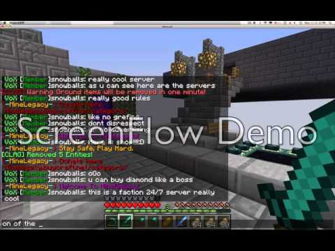 Awesome Minecraft server 24/7 [Factions] and [Warps]