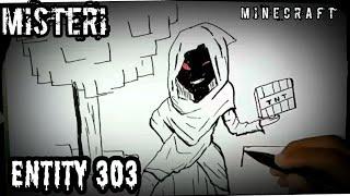 Misteri ENTITY 303 di game Minecraft |cerita bergambar