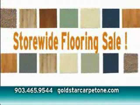 Gold Star Carpet One Store Wide Flooring Sale till 5/26