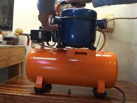 Homemade silent compressor
