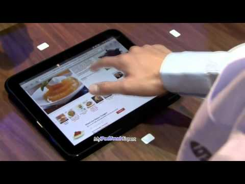 HP (Palm) TouchPad webOS tablet-Demo