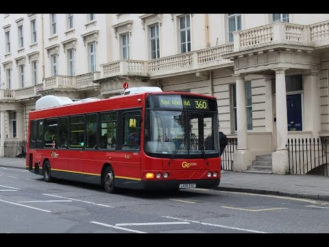 Go Ahead London/London Central   Wright Electrocity   360 to Royal Albert Hall   WHY2 (LX55EAC)