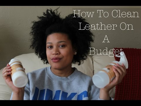 How To Clean Leather Furniture On A Budget