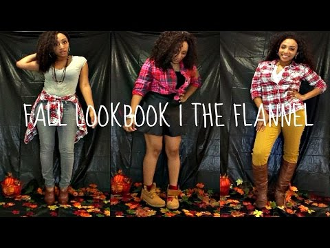 FALL LOOKBOOK 2015 | THE FLANNEL + COLLAB