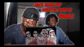 Jack Harlow - WHATS POPPIN (feat. DaBaby, Tory Lanez & Lil Wayne) - REACTION