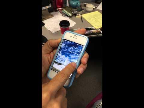 iPhone 4S Lock Screen Bug?