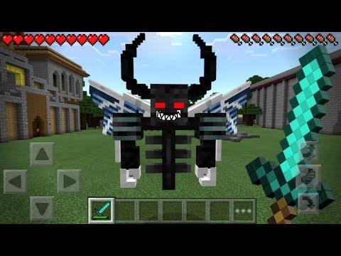 I FOUND NULL in Minecraft Pocket Edition!!!! (SECRET BOSS MOB)