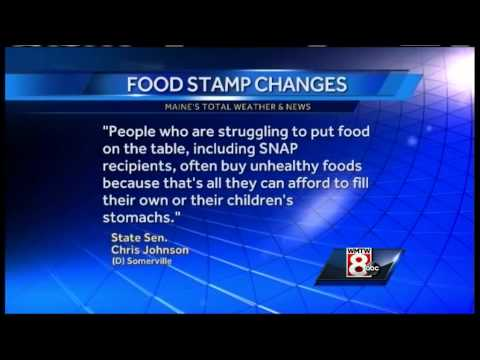 Should food stamps cover junk food?