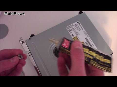How To Fix A Broken Xbox 360 DVD Disc Drive