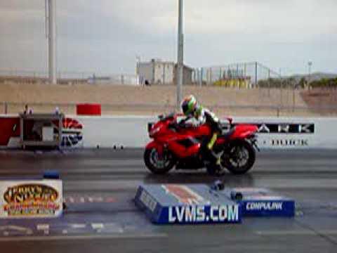 Stock Kawasaki ZZR1400 ZX-14 Quarter Mile in 9.17s at 151mph