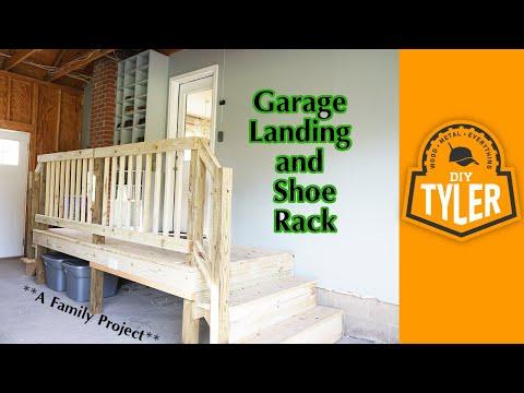 Garage Landing and Shoe Rack
