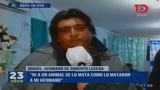 """""""Bernachi no quiso dar la cara"""" dice el hermano del policía ultimado por ladrones"""