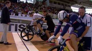 Mens Sprint Final  -  2014 UCI Track Worlds