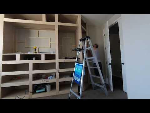 Master Bedroom Men's Closet Part 1