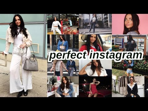 how to have the perfect instagram   filters, poses, tips