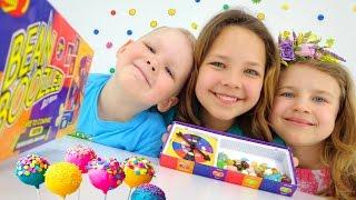 Download Смешное видео про игрушки. Рулетка для сладостей. Video