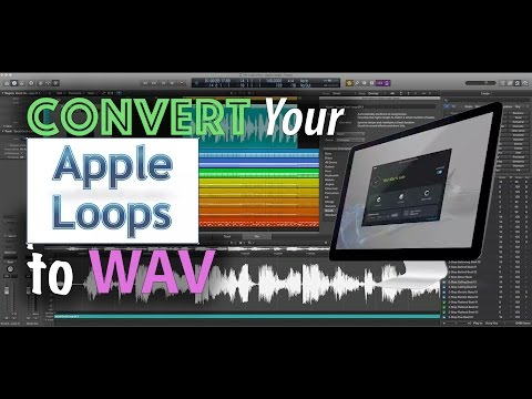 Easily Convert Apple Loops To WAV | Audacity Batch Processing Tutorial