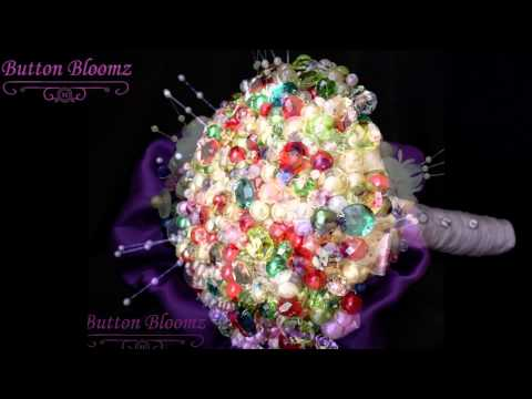 Button Bloomz Alternative Bead & Button Bouquets