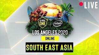 LIVE Quincy Crew Vs Cr4zy ESL One Los Angeles Group NA