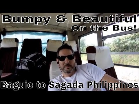 Philippines, Baguio to Sagada: Beautiful Views & Some Bumps Along the Way