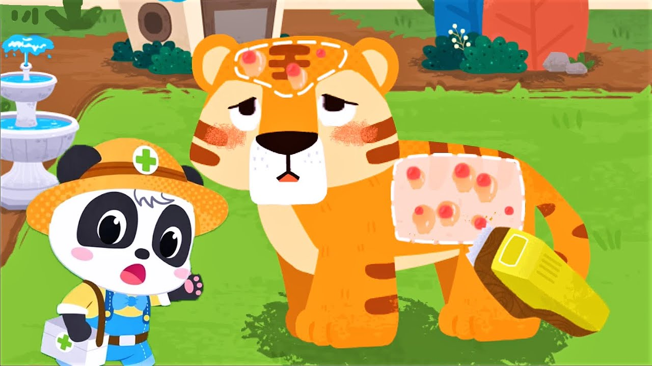 Baby Panda Rescue Animals | Clean Up, Learn About Animals | BabyBus Gameplay Video