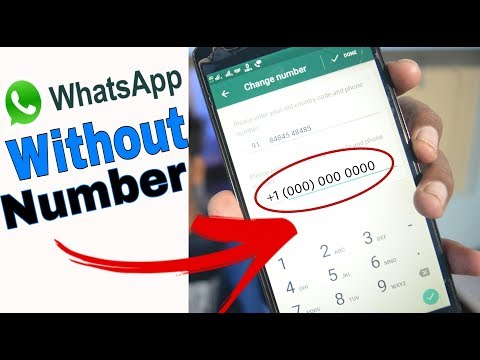 How to Use WHATSAPP Without NUMBER | WHATSAPP Tricks - 2018