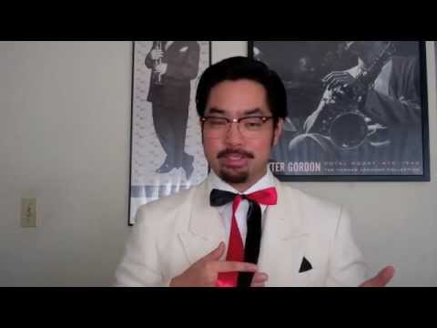How to Tie a Colonel Sanders Bow-tie or String tie