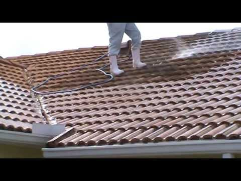 Soft Wash Roof Cleaning Blackened Tile + Pressure Cleaning Bergman