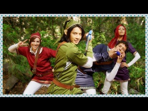 Four Swords Legend Of Zelda Cosplay | Cosplay