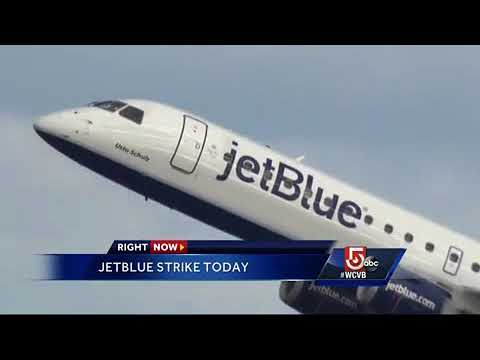 JetBlue subcontractors plan Logan Airport strike
